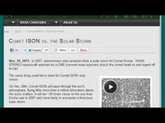 "http://pinterest.com/pin/7248049374049141/ Huge Update! NASA Now Says Comet ISON Orbit 582,666 Years & Can't Predict Outcome! - ""Dahboo77? Alex Jones Wannabe. The Oil Rig says: (LISTEN TO THIS SHIT GANG. DAHBOO77's AT IT AGAIN. NOW GET THIS! HE SAYS: *COMET ISON IS GOING TO HIT THE SUN* GUESS WHO'S RIDING ON THE COMET? IT'S SATAN 666. BUT WHAT HE DOESN'T TELL IS. ISON's GOTTA MAKE IT AROUND THE SUN WITHOUT EXPLODING FIRST. Isn't that a daisy? lmao =))"""