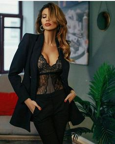 Trending now Summer Lace Tops and Best way to wear them in 2019 - Dentelle diy couture Sexy Outfits, Cool Outfits, Fashion Outfits, Womens Fashion, Fashion Trends, Online Fashion, Looks Party, Femmes Les Plus Sexy, Street Style