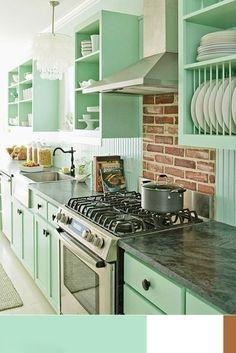 Lodgers Mint Green Kitchengreen Kitchen