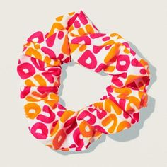 Do your updo with Dunkin' logo scrunchies! These hair scrunches are a fun accessory you can wear anywhere this holiday season. Girly Girl Outfits, Cute Outfits, Wrap Program, Ear Piercings Chart, Accesorios Casual, Unicorn Makeup, Christmas Stocking Stuffers, Things To Buy, Stuff To Buy