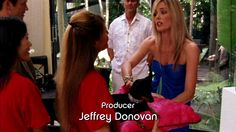 "Producer Jeffrey Donovan, Burn Notice ""Partners in Crime"" Season 3, Episode 14, 2010."