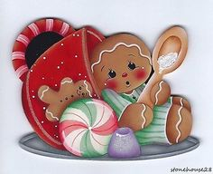 Should you enjoy arts and crafts a person will really like our info! Christmas Gingerbread Men, Gingerbread Ornaments, Gingerbread Decorations, Christmas Art, Christmas Decorations, Xmas, Christmas Ornaments, Christmas Printables, Christmas Pictures