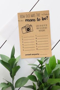 How Old Was The Mom-To-Be, Baby Shower Game Printable, How Old Was the Mom, Baby Shower Games, Rustic, Instant Download, Shower Activities