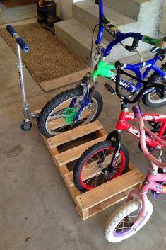 Bike Storage solutions for Garage . Bike Storage solutions for Garage . Pin by Bryan On Bike Storage Garage Storage Solutions, Diy Garage Storage, Kids Storage, Shed Storage, Storage Ideas, Organization Ideas, Bicycle Storage Garage, Garage Organization Bikes, Bicycle Garage