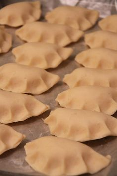 Pierogi!  A Christmas tradition.