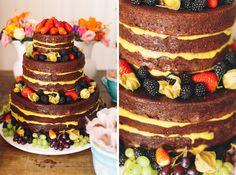 beautiful and yummy naked cake Hotel Santa Teresa, Bolos Naked Cake, Wedding Inspiration, Wedding Ideas, Wedding Cakes, Destination Wedding, Wedding Photography, Cake Ideas, Desserts