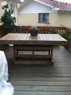 Patio Pallet Table Pallet Desks & Pallet Tables