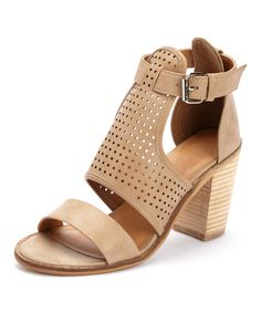 Look at this Beige Pascal Sandal on #zulily today!