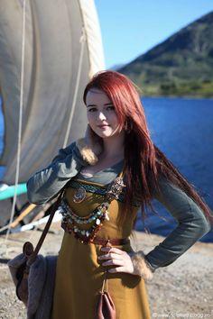 "crystallinegaia: ""At Lofotr Vikingfestival. """
