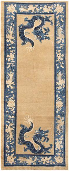 Antique Chinese Rug 46818 Nazmiyal - By Nazmiyal