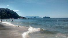 Dia de sol em Jureia - Brasil