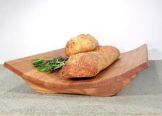 Contemporary Wooden White Oak Fruit and Bread by offcutstudio, $84.00