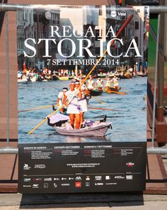 Poster for this year's Regata Storica