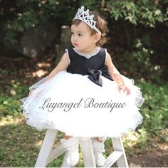 22.99$  Watch here - Hand-Beaded Neckline & Sleeve Girl Dress Big Ribbon Bow belt Girls Party Wedding Dresses for Christmas Kids Dress 3-8T  #buyonline
