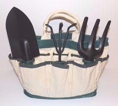 Macy's 4 Piece Gardening Tote with Tools #Macys