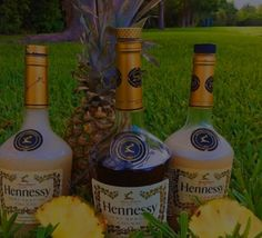 Frozen Pineapple Hennessy