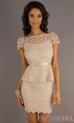 vestidos con encaje -