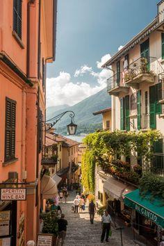 Découvert de Bellagio une des villes bordant le lac de Côme #Bellagio #italie #lacdecome #comolake #italy #italia #travel #voyage