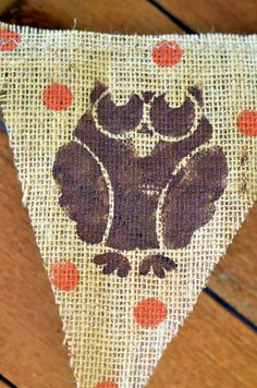 Perfect for fall!!! Love the owls and polka dots