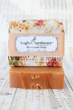 Orange Clove Bath Soap with Organic Oils  Vegan by NaiadSoapArts, $8.95