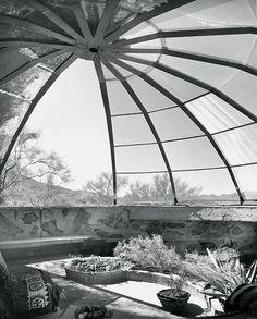 Woods Residence - Paolo Soleri and Mark Mills - 1950 /  photo: Julius Shulman