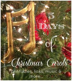Homegrown Learners - Home - 5 Days of Christmas Carols - Day #1: Carol of the Bells