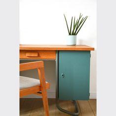 bureau d 39 colier ancien 2places patin home sweet home pinterest bureaux. Black Bedroom Furniture Sets. Home Design Ideas