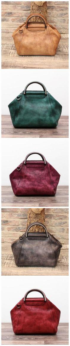 Women's Fashion Leather Designer Handbag Messenger Bag Shoulder Bag Cross Body Bag WF52 Overview: Design: Women Fashion Handbag In Stock: 3-5 days For Making Leather: Vegetable Tanned Leather Measures