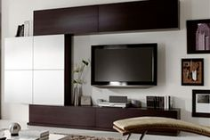 contemporary wall units - Buscar con Google Wall Units, Flat Screen, The Unit, Contemporary, Interior Design, Google, Tv Unit Furniture, I Love, Furniture