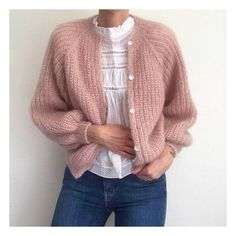 5 Guidelines For Looking At Infant Crochet Styles Knit Cardigan Pattern, Mohair Sweater, How To Purl Knit, Oversized Cardigan, Diy Clothes, Baby Knitting, Knitwear, Knitting Patterns, Knit Crochet