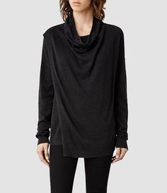 Womens Verney Sweater (Fawn Marl) - product_image_alt_text_1