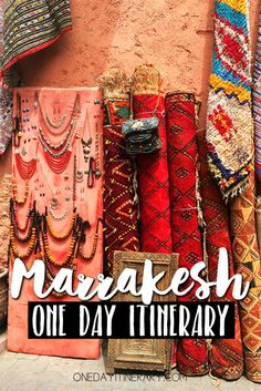 Marrakesh, Morocco – One day itinerary – Travel and Tourism Trends 2019 Marrakech Travel, Marrakech Morocco, Morocco Travel, Africa Travel, Spain Travel, Casablanca, Morocco Itinerary, Morocco Destinations, Travel Destinations