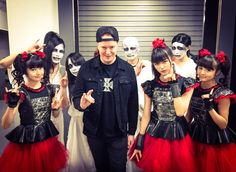 Thank you for coming to @BABYMETAL_JAPAN show!!@Michael_Amott @archenemymetal #BABYMETAL #TOKYO #東京 #archenemy
