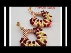 Beaded Earrings, Beaded Bracelets, Twin Beads, Crochet Necklace, The Creator, Youtube, Jewelry, Ear Rings, Stud Earrings