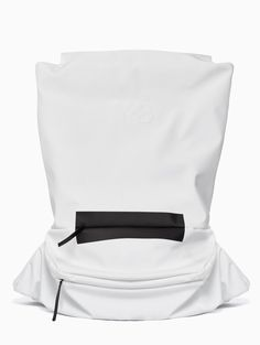 FS backpack from S/S2016 Y-3 by Yohji Yamamoto collection in white