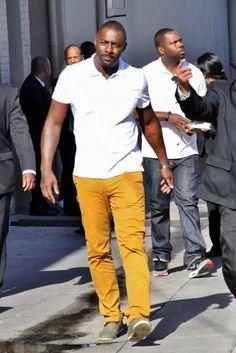 Idris Elba, my love.