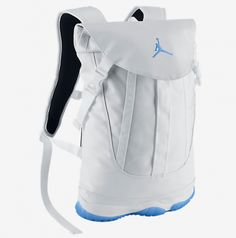 Air Jordan Backpack By Michael Ditullo and Alan Strack Blue Jordans 20586b4593dbb