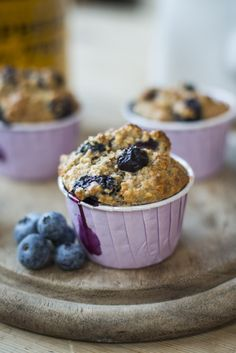 Blueberry & Chia Seed Muffins…