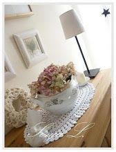 Usušené květy hortenzie ze zahrady