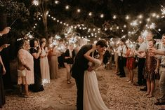 Stunning Sparkler Send-off! | Peyton Rainey Photography #weddings #weddinginspiration #cuteoklahomacouple #bridesofok