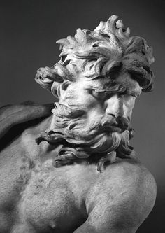 Gian Lorenzo Bernini (1598-1680), Neptune and Triton (detail), c. 1620-22.  Victoria and Albert Museum
