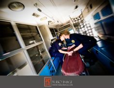 Paramedic engagement picture.. But I would be the only one in the uniform. Girl paramedic