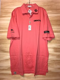 NWT Peter Millar Hibiscus Geico Foot joy XL Golf Polo Shirt Titleist  | eBay