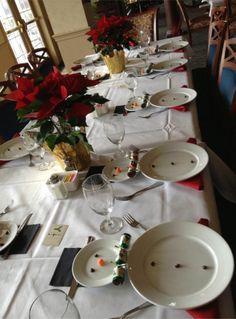 Snowman table setting-adorable!!!