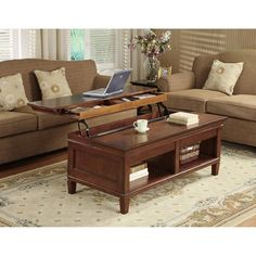 lift top coffee table For the Home Pinterest