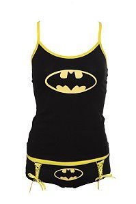 DC Comics Batman Logo Glow-In-The-Dark Tank Set  $24.50