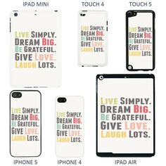 Life Sayings Quotes Cover case for Apple iPhone 5C: Amazon.co.uk: Electronics