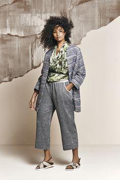 21a6428b1b97 Long yarn-dyed basketweave-effect jacket