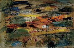 ✽   john piper  -  'pembrokeshire a distant prospect'  -   1964