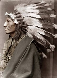 As an American novelist, I find this catches my eye . This picture was taken in and shows an Native American Chief. The man's name was Whirling Horse Native American Images, Native American Beauty, Native American Tribes, Native American History, American Indians, American Symbols, American Women, Indiana, Inka